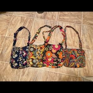 Vera Bradley Purse Mailbag Hipster Lot crossbody